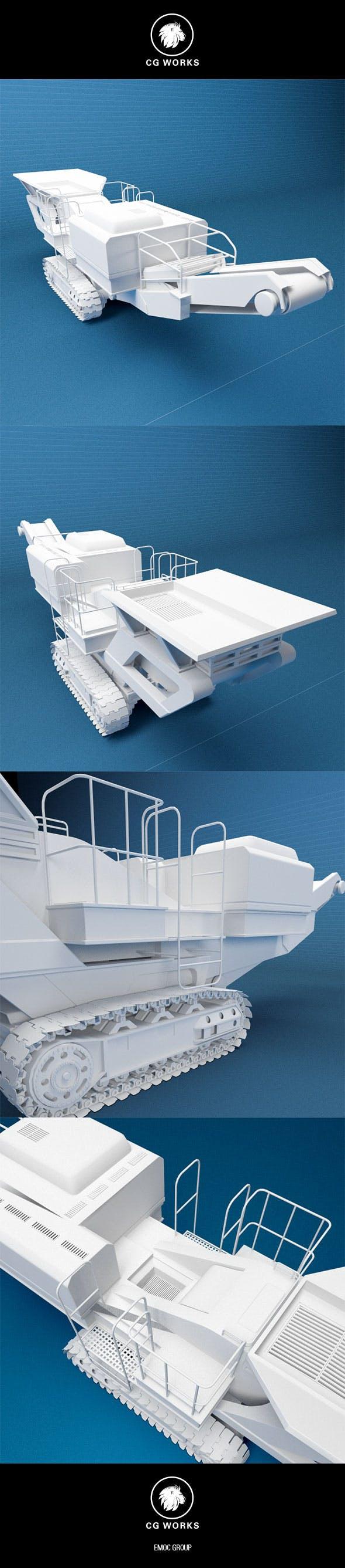 Construction machinery C4D & OBJ X - 3DOcean Item for Sale