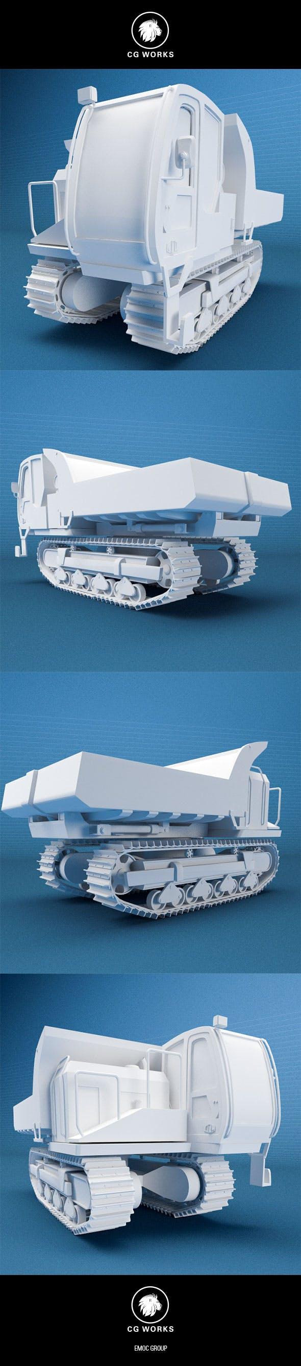 Construction machinery C4D & OBJ XII - 3DOcean Item for Sale