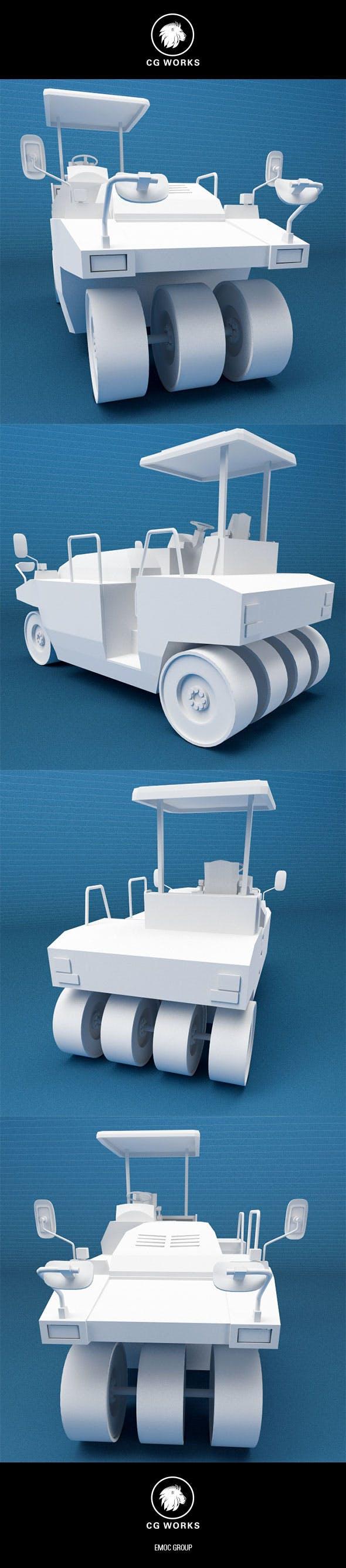 Construction machinery C4D & OBJ XIII - 3DOcean Item for Sale