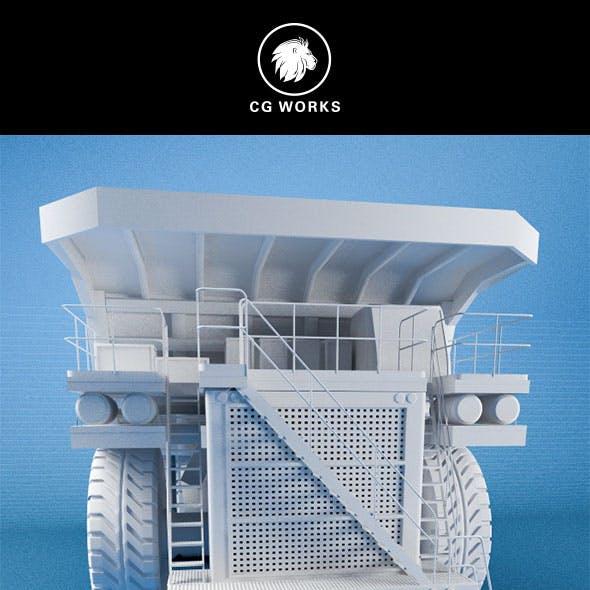 Construction machinery C4D & OBJ XVI