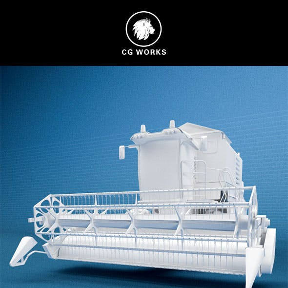 Construction machinery C4D & OBJ XX