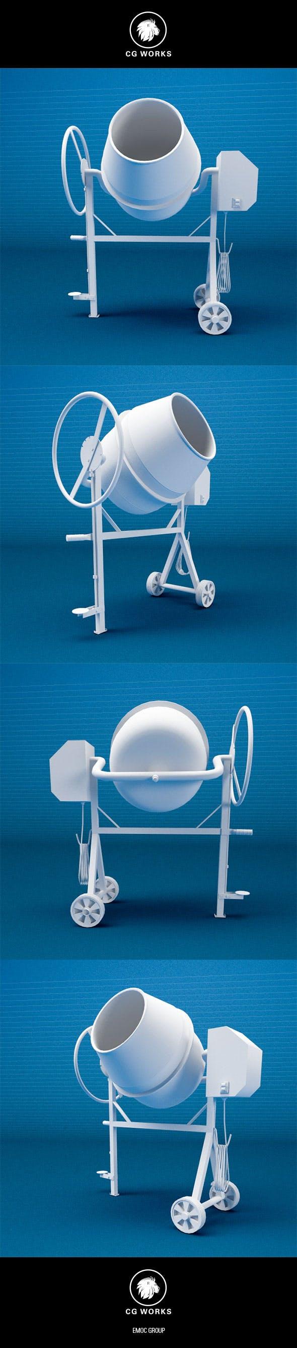Construction machinery C4D & OBJ XX1 - 3DOcean Item for Sale