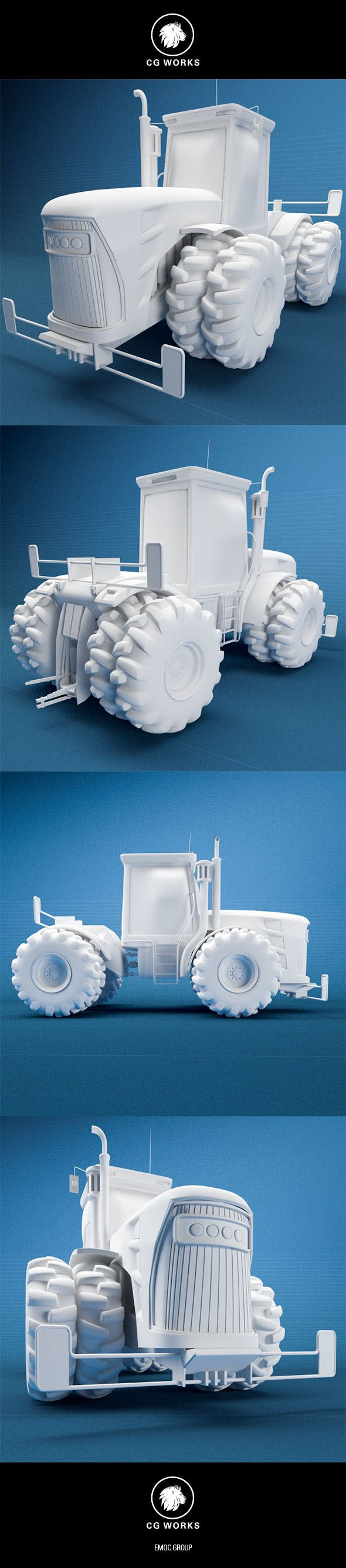 Construction machinery C4D & OBJ XXIII - 3DOcean Item for Sale