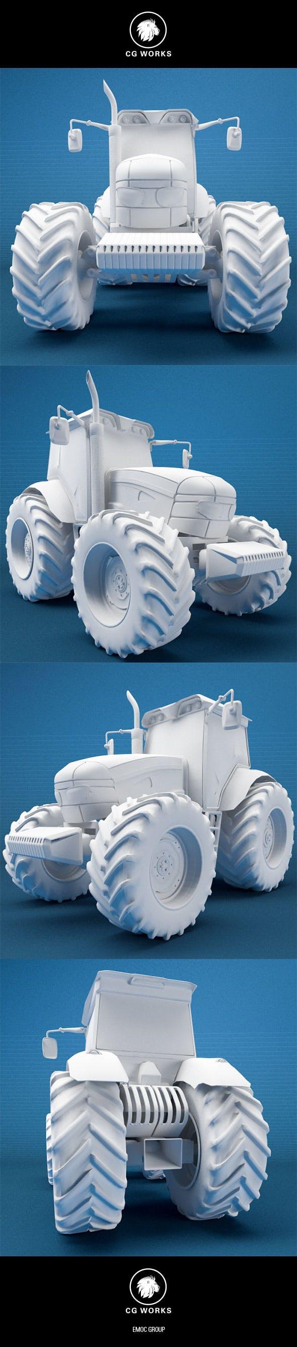 Construction machinery C4D & OBJ XXVI - 3DOcean Item for Sale