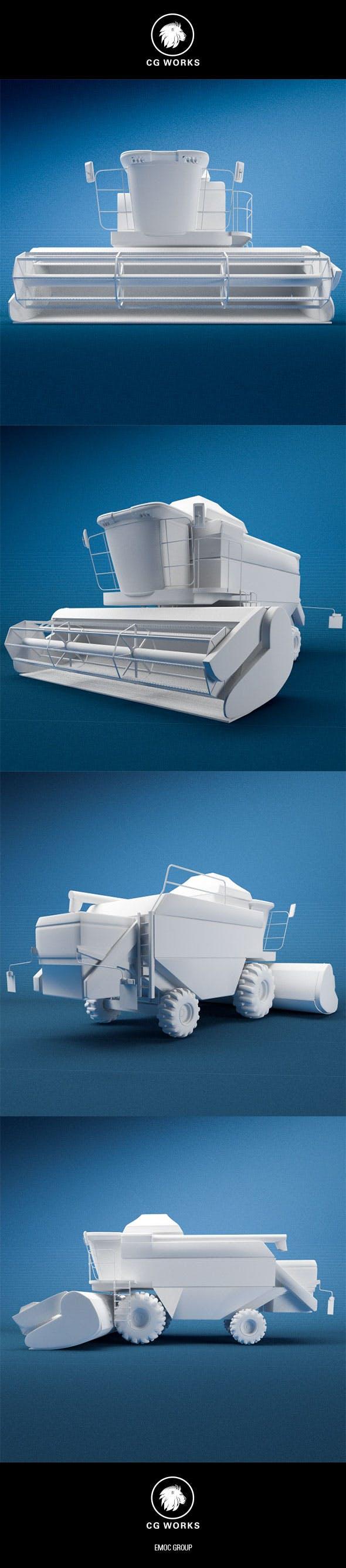 Construction machinery C4D & OBJ XXVIII - 3DOcean Item for Sale