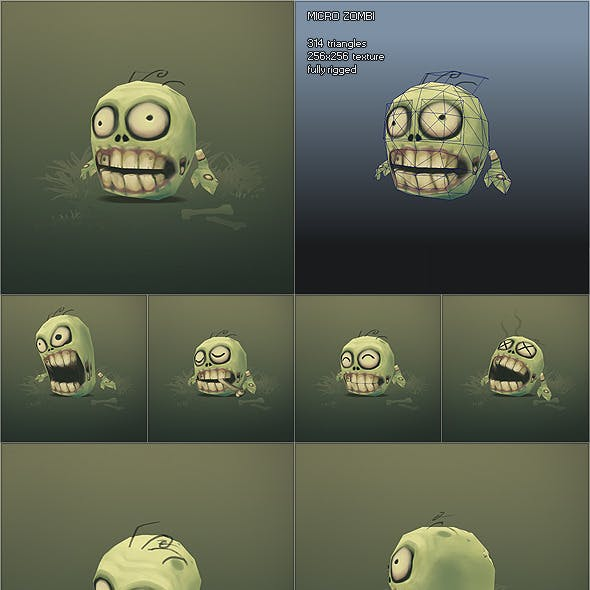 3D Monster & Creature Models from 3DOcean