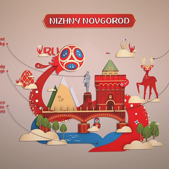 Russian style Novgorod city