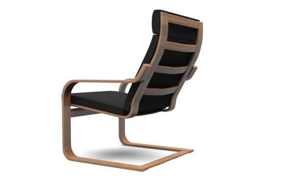 Ikea POÄNG Chair - 3DOcean Item for Sale