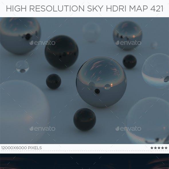 High Resolution Sky HDRi Map 421