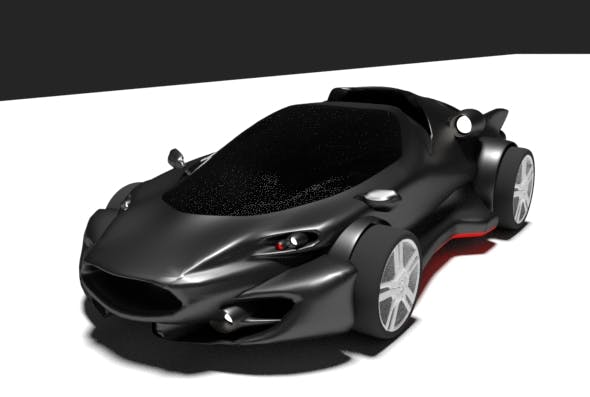 Gt Sport Car Panther 500 - 3DOcean Item for Sale