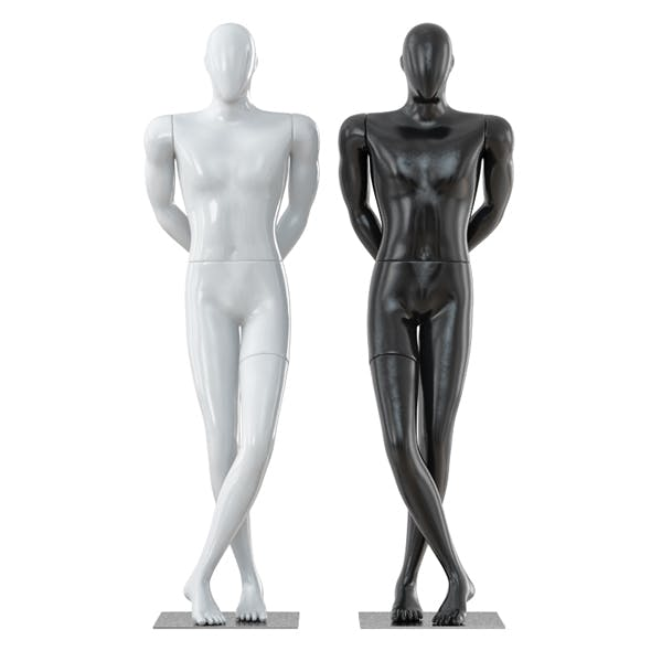 Faceless male mannequin 31 - 3DOcean Item for Sale