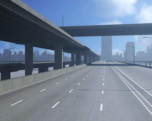 Freeway01 - 3DOcean Item for Sale