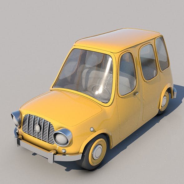Toon Car No:4 - 3DOcean Item for Sale
