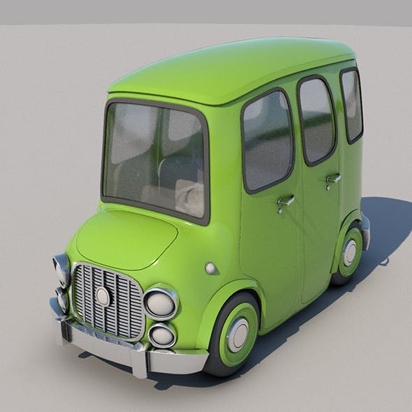 Toon Car No:5 - 3DOcean Item for Sale