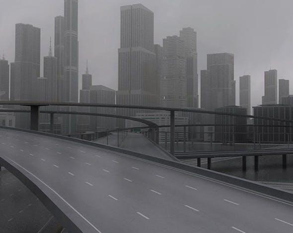 Freeway03 City - 3DOcean Item for Sale