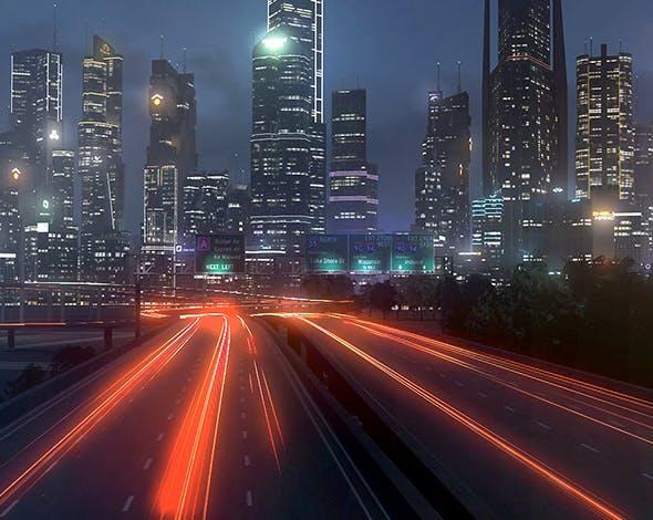 Freeway09 City+3DEFX - 3DOcean Item for Sale