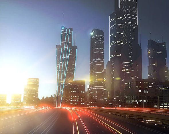 Freeway10 City+3DEFX - 3DOcean Item for Sale