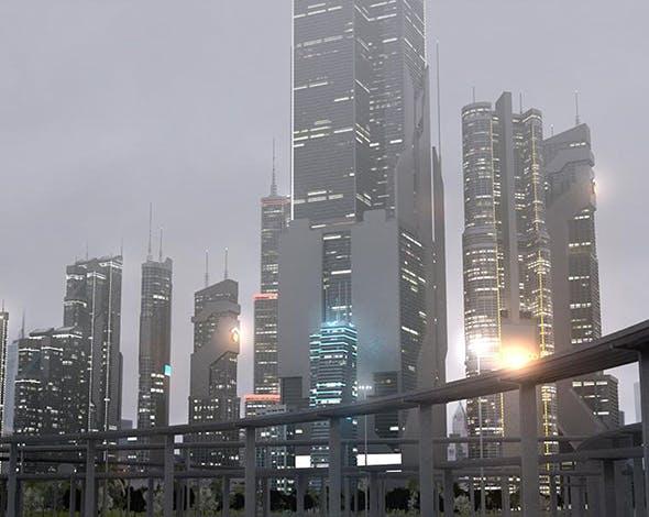 Freeway11 City - 3DOcean Item for Sale