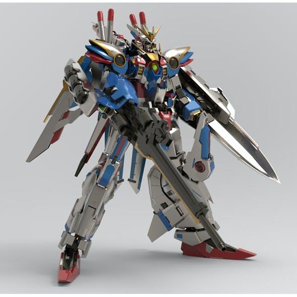 EX Wing Dragon Build full custom and bonus parts done in Blender.
