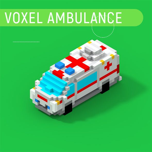Voxel Ambulance