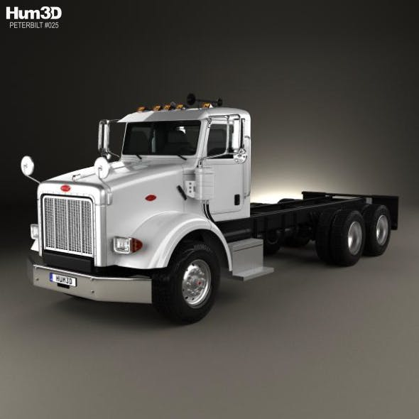 Peterbilt 357 Day Cab Chassis Truck 2006 - 3DOcean Item for Sale