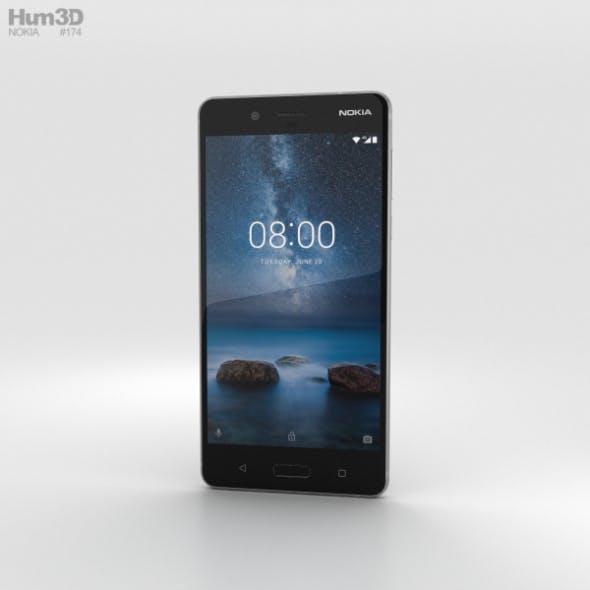Nokia 8 Steel - 3DOcean Item for Sale