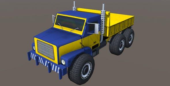 Industry Heavy Load Truck 2 - 3DOcean Item for Sale