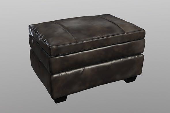 Gleason Chair Ottoman - 3DOcean Item for Sale