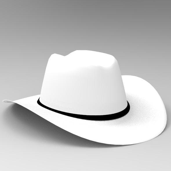cowboy hat - 3DOcean Item for Sale