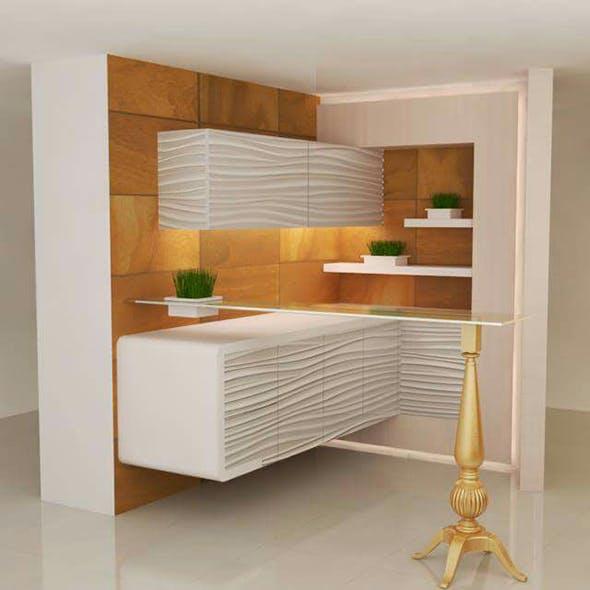 kitchen 2 - 3DOcean Item for Sale