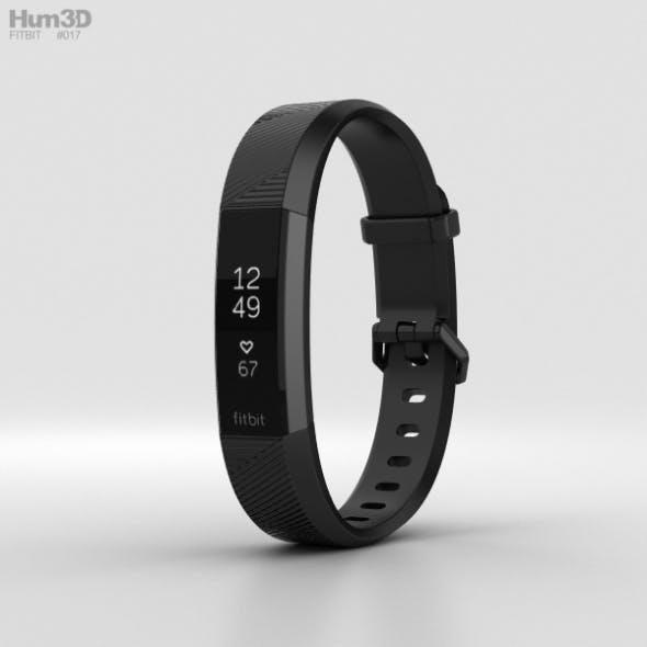 Fitbit Alta HR Black Gunmetal - 3DOcean Item for Sale