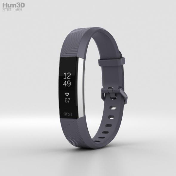 Fitbit Alta HR Blue Gray - 3DOcean Item for Sale