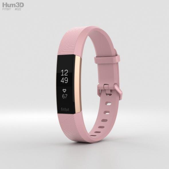 Fitbit Alta HR Soft Pink