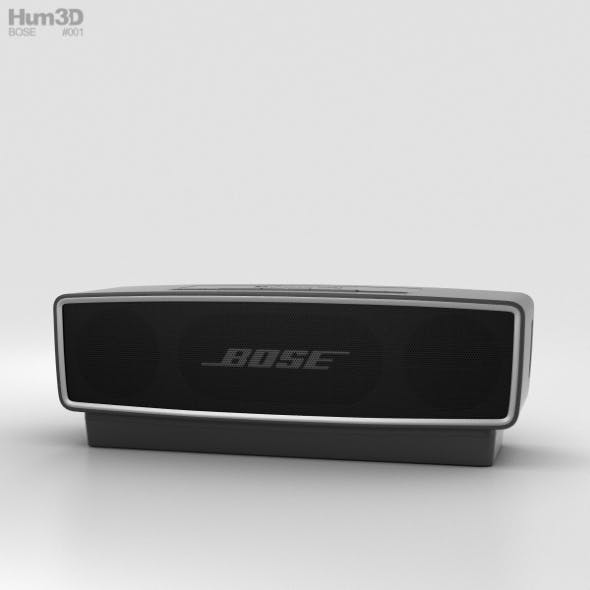 Bose SoundLink Mini 2 Carbon - 3DOcean Item for Sale