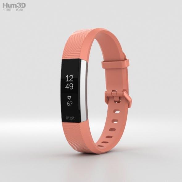 FitBit Alta HR Coral - 3DOcean Item for Sale