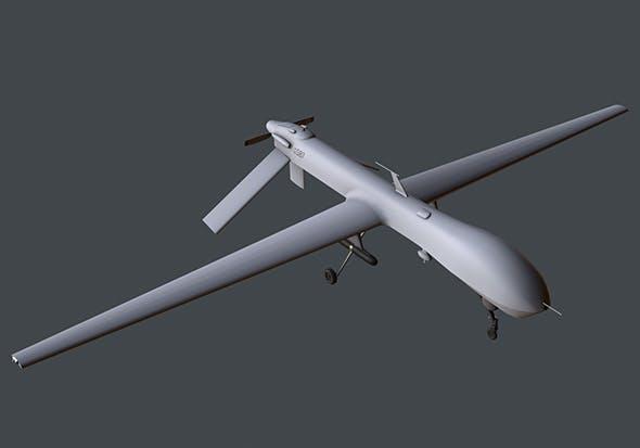 Drone MQ-1 Predator - 3DOcean Item for Sale
