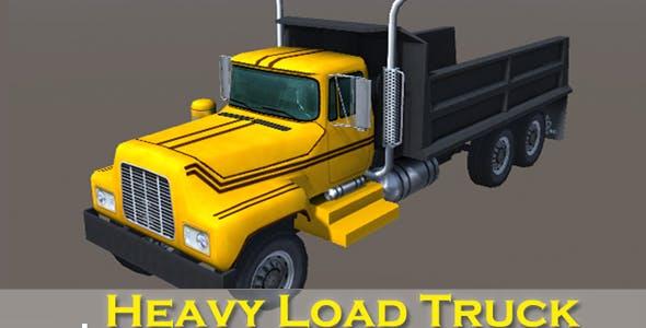 Industry Heavy Load Truck 4 - 3DOcean Item for Sale