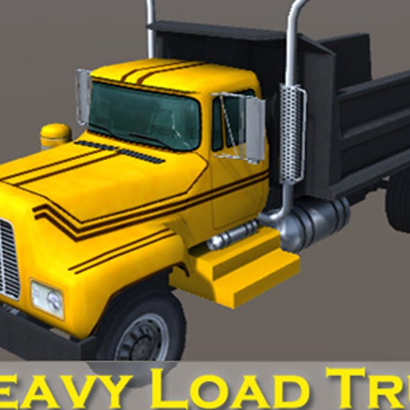 Industry Heavy Load Truck 4