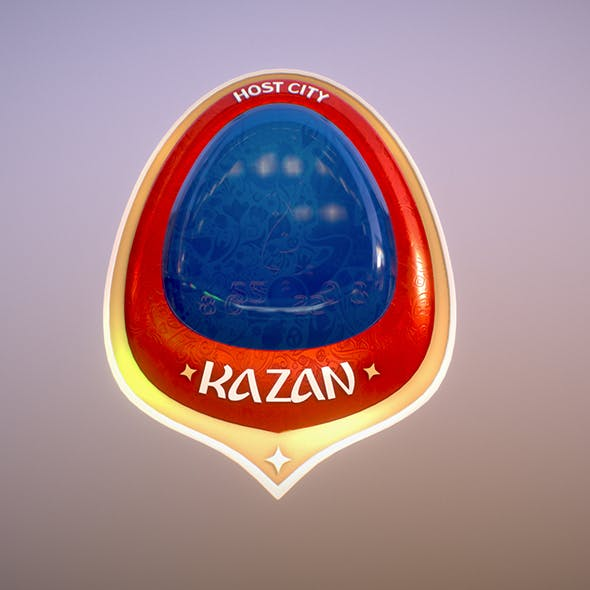 Kazan City World Cup Russia 2018 Symbol