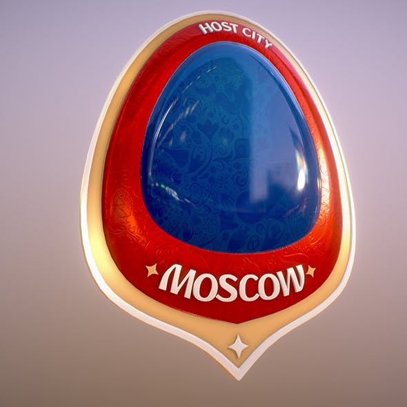 moscow City World Cup Russia 2018 Symbol