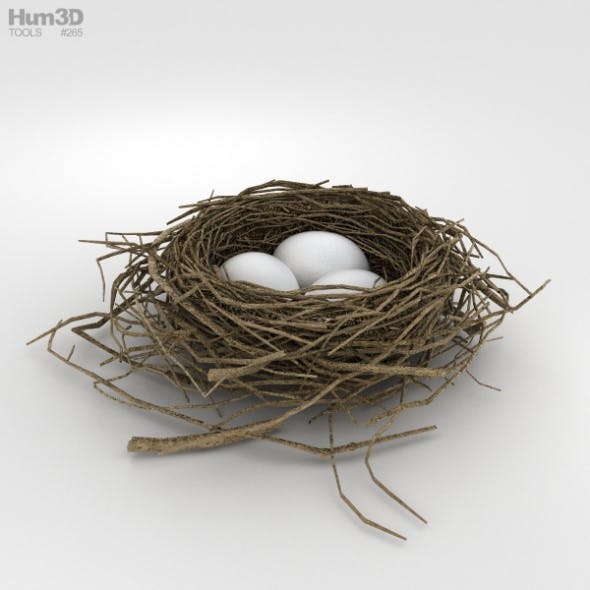 Bird Nest - 3DOcean Item for Sale