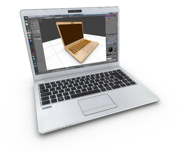 Laptop (LowPoly UE4 Unity Element3D VR) - 3DOcean Item for Sale