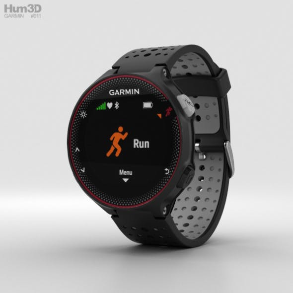 Garmin Forerunner 235 Black and Gray