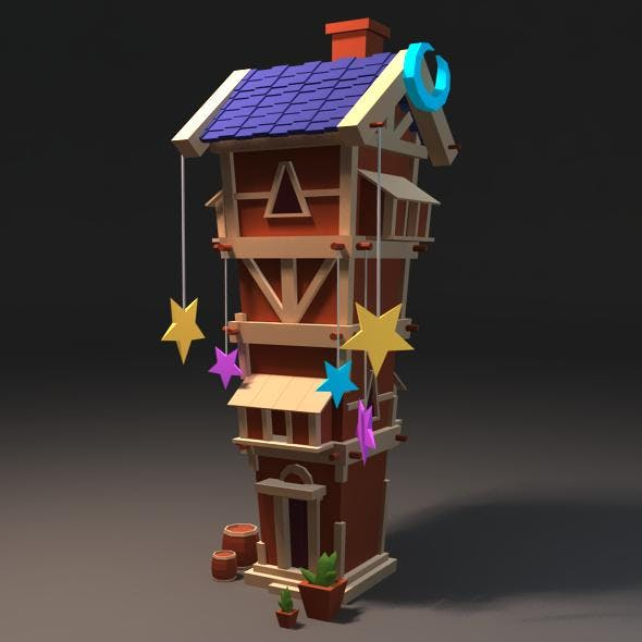 TowerHouse - 3DOcean Item for Sale