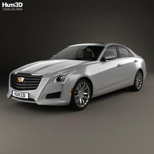 Cadillac CTS Premium Luxury 2017 - 3DOcean Item for Sale