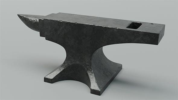 Realistic anvil 4k - 3DOcean Item for Sale