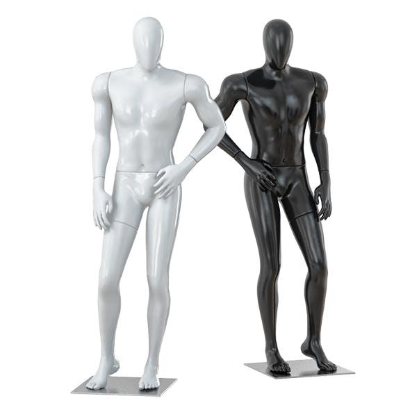 Faceless male mannequin 35 - 3DOcean Item for Sale