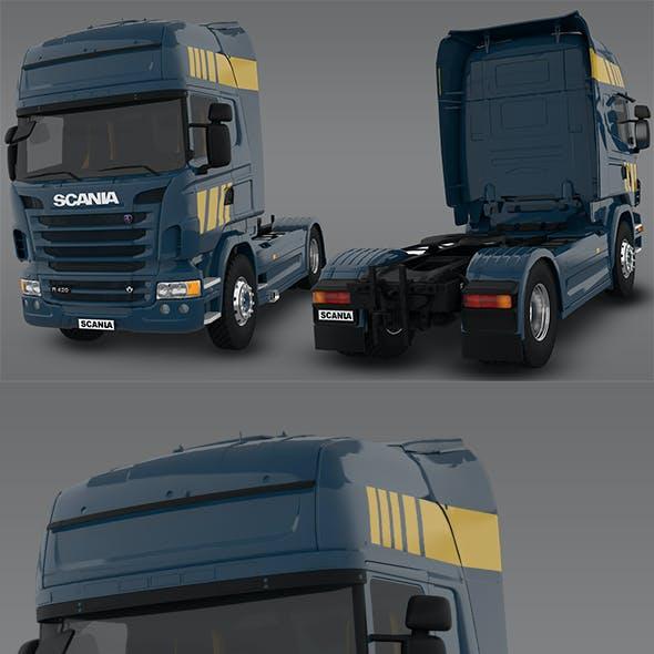 Scania R480 2008 3D Model