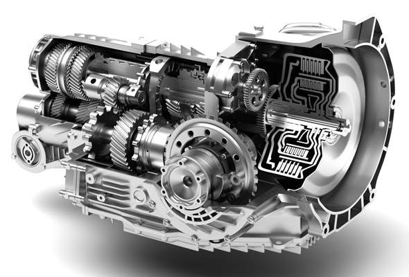 Transmission Cutaway 3d model - 3DOcean Item for Sale