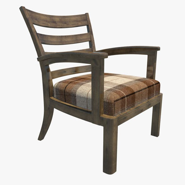 Armchair 02 - 3DOcean Item for Sale